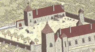 Le château au 17e siècle