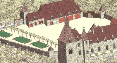 Château au 20e siècle